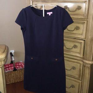 Lilly Pulitzer Medium Navy Blue Dress